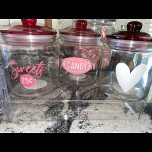 Target Valentines Mason Jars Set of Each 3/$40